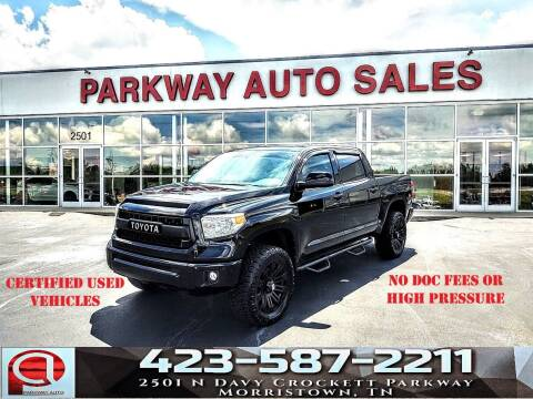 2016 Toyota Tundra for sale at Parkway Auto Sales, Inc. in Morristown TN