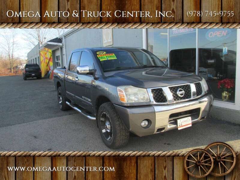 2007 Nissan Titan for sale at Omega Auto & Truck Center, Inc. in Salem MA