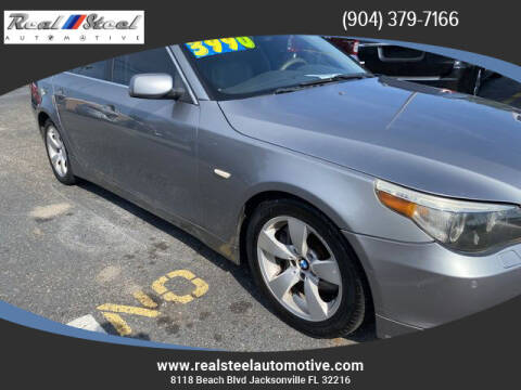 2004 BMW 5 Series for sale at Real Steel Automotive in Jacksonville FL