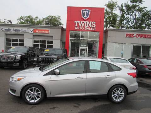 2016 Ford Focus for sale at Twins Auto Sales Inc - Detroit in Detroit MI