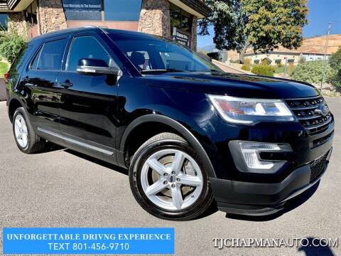 2017 Ford Explorer for sale at TJ Chapman Auto in Salt Lake City UT