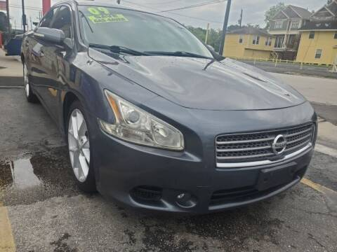 2009 Nissan Maxima for sale at USA Auto Brokers in Houston TX
