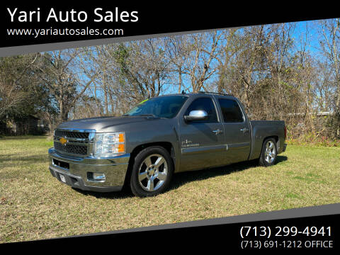 2013 Chevrolet Silverado 1500 for sale at Yari Auto Sales in Houston TX