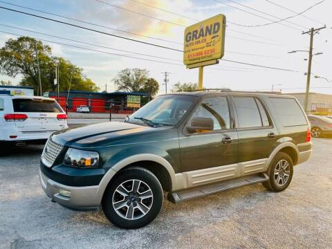 2003 Ford Expedition for sale at Grand Auto Sales in Tampa FL
