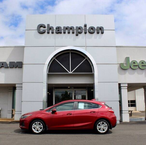 2019 Chevrolet Cruze for sale at Champion Chevrolet in Athens AL