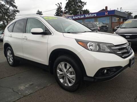 2013 Honda CR-V for sale at All American Motors in Tacoma WA