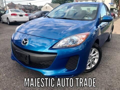 2012 Mazda MAZDA3 for sale at Majestic Auto Trade in Easton PA