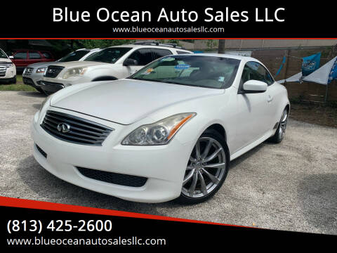 2009 Infiniti G37 Convertible for sale at Blue Ocean Auto Sales LLC in Tampa FL