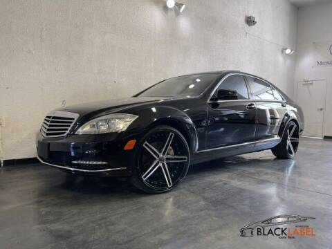 2013 Mercedes-Benz S-Class for sale at BLACK LABEL AUTO FIRM in Riverside CA