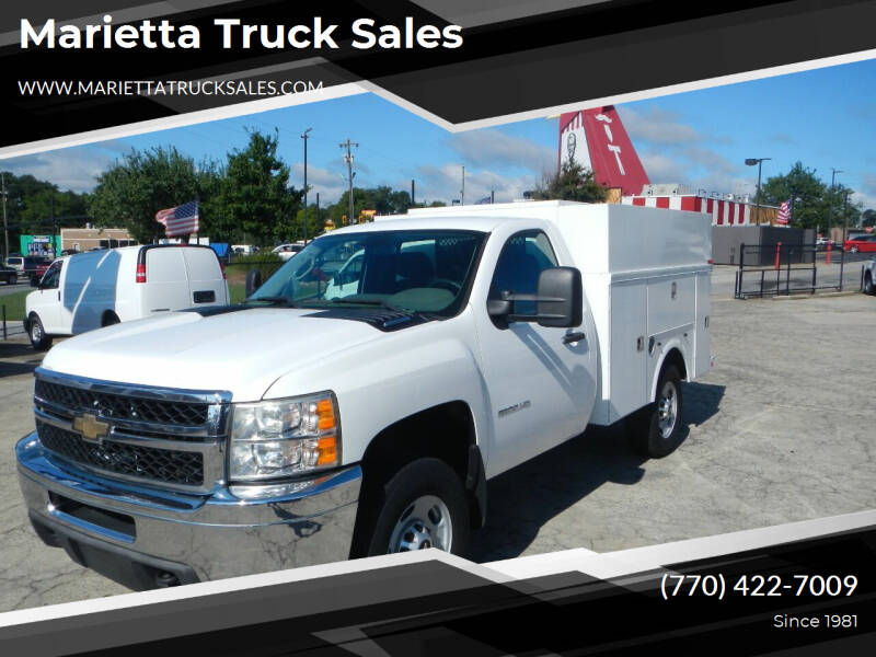 2011 Chevrolet Silverado 2500HD for sale at Marietta Truck Sales in Marietta GA