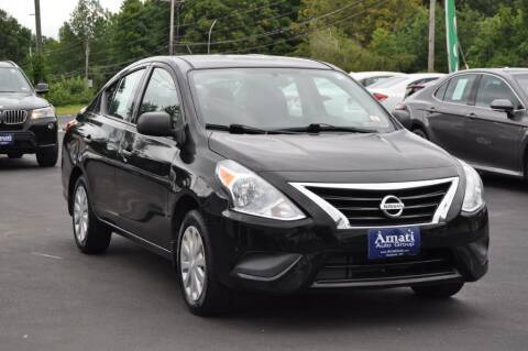 2015 Nissan Versa for sale at Amati Auto Group in Hooksett NH
