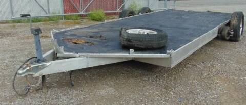 2000 Aluminum Trailer for sale at Kenny's Auto Wrecking in Lima OH