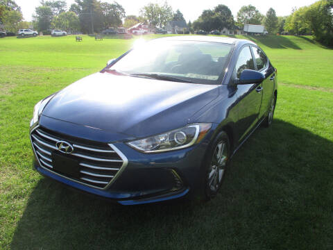 2018 Hyundai Elantra for sale at Triangle Auto Sales in Elgin IL