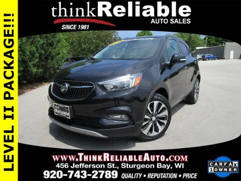2018 Buick Encore for sale at RELIABLE AUTOMOBILE SALES, INC in Sturgeon Bay WI