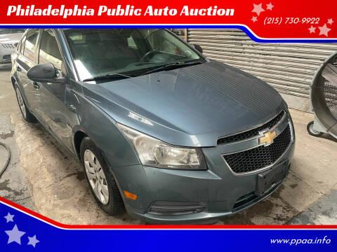 2012 Chevrolet Cruze for sale at Philadelphia Public Auto Auction in Philadelphia PA