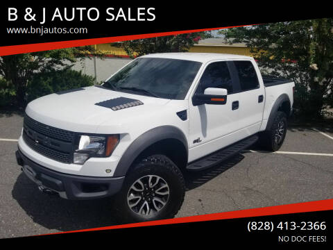 2012 Ford F-150 for sale at B & J AUTO SALES in Morganton NC