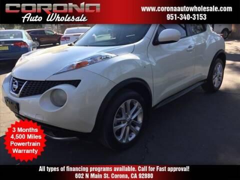 2012 Nissan JUKE for sale at Corona Auto Wholesale in Corona CA