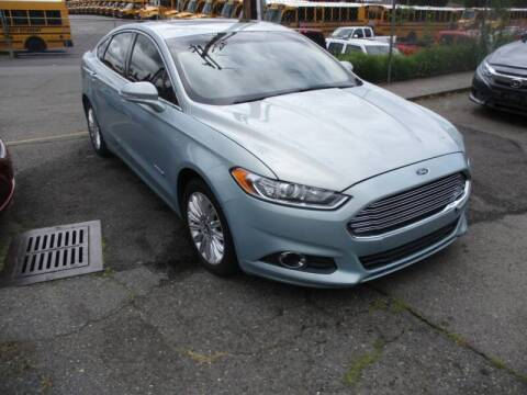 2013 Ford Fusion Hybrid for sale at SNS AUTO SALES in Seattle WA