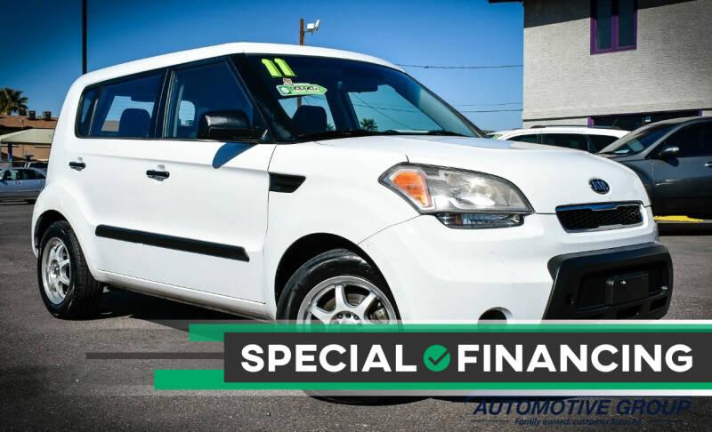 2011 Kia Soul for sale at Rahimi Automotive Group in Yuma AZ