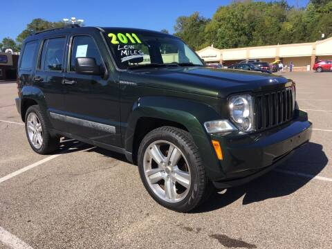 2011 Jeep Liberty for sale at Borderline Auto Sales in Loveland OH