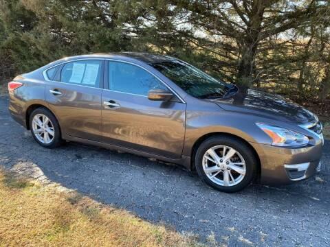 2014 Nissan Altima for sale at Kansas Car Finder in Valley Falls KS