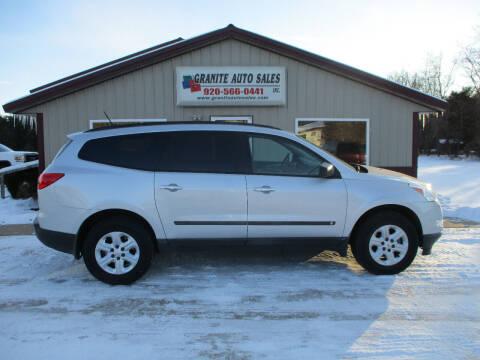 2010 Chevrolet Traverse for sale at Granite Auto Sales in Redgranite WI