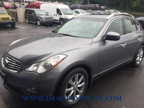 2012 Infiniti EX35 for sale at J & M Automotive in Naugatuck CT