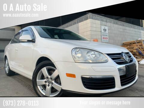 2009 Volkswagen Jetta for sale at O A Auto Sale in Paterson NJ