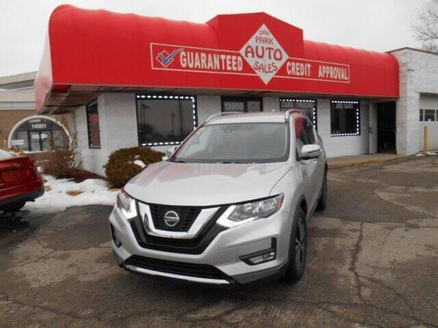 2018 Nissan Rogue for sale at Oak Park Auto Sales in Oak Park MI