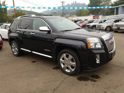 2013 GMC Terrain for sale at City Center Cars and Trucks in Roseburg OR