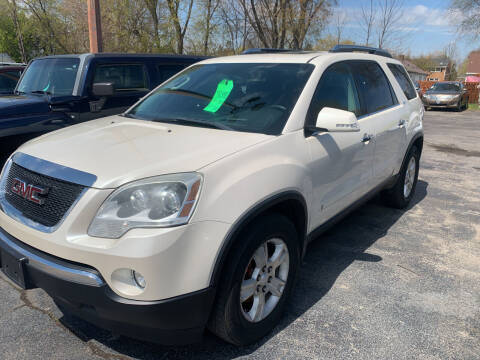 2009 GMC Acadia for sale at PAPERLAND MOTORS - Fresh Inventory in Green Bay WI