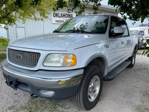 2001 Ford F-150 for sale at Lumpy's Auto Sales in Oklahoma City OK