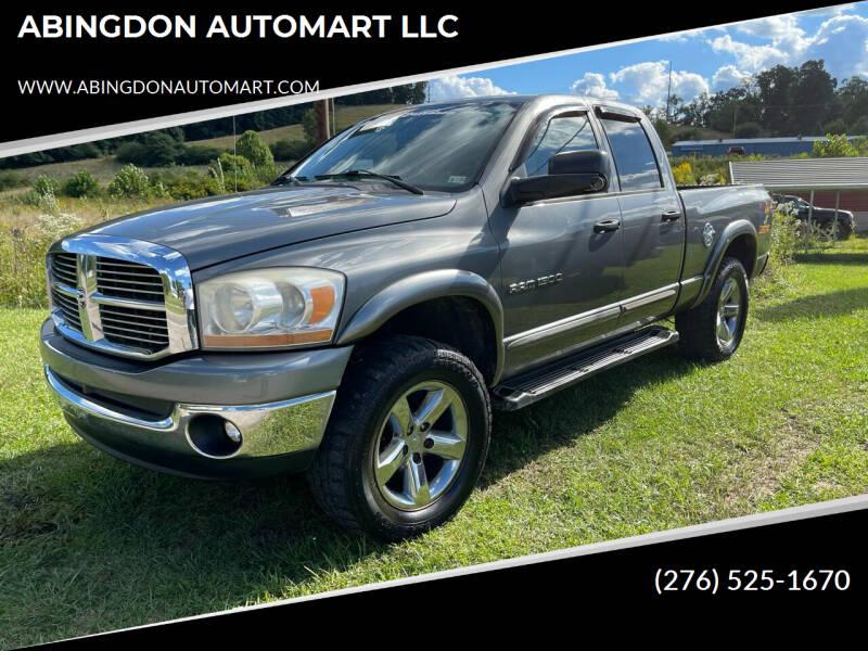 2006 Dodge Ram Pickup 1500 for sale at ABINGDON AUTOMART LLC in Abingdon VA