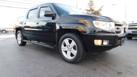 2010 Honda Ridgeline for sale at Action Automotive Service LLC in Hudson NY
