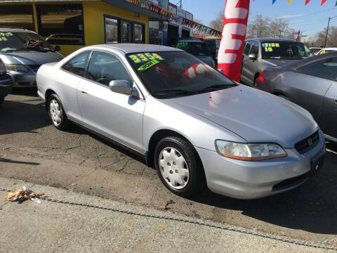 2000 Honda Accord for sale at Once and Done Motorsports in Chico CA