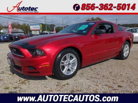 2013 Ford Mustang for sale at Autotec Auto Sales in Vineland NJ