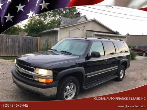 2003 Chevrolet Suburban for sale at Global Auto Finance & Lease INC in Maywood IL
