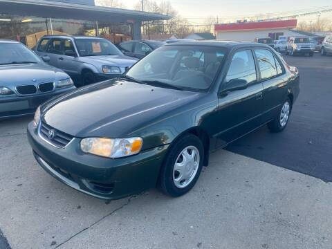 2002 Toyota Corolla for sale at Wise Investments Auto Sales in Sellersburg IN