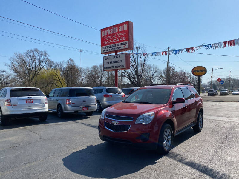 2013 Chevrolet Equinox for sale at Parkside Auto Sales & Service in Pekin IL