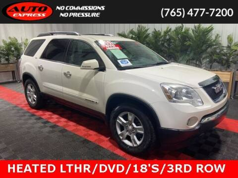 2008 GMC Acadia for sale at Auto Express in Lafayette IN