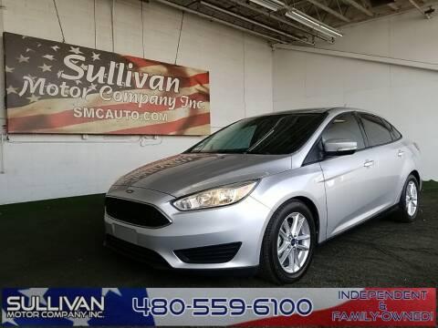 2015 Ford Focus for sale at SULLIVAN MOTOR COMPANY INC. in Mesa AZ