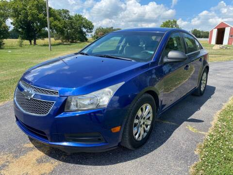 2012 Chevrolet Cruze for sale at Champion Motorcars in Springdale AR