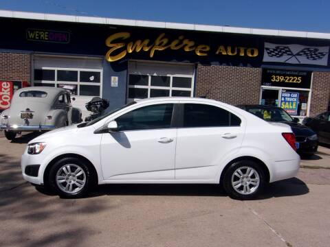2014 Chevrolet Sonic for sale at Empire Auto Sales in Sioux Falls SD