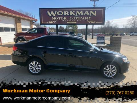 2013 Volkswagen Jetta for sale at Workman Motor Company in Murray KY