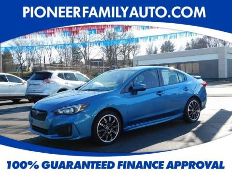2017 Subaru Impreza for sale at Pioneer Family Preowned Autos in Williamstown WV