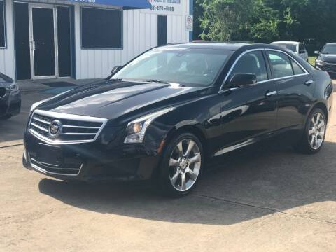 2014 Cadillac ATS for sale at Discount Auto Company in Houston TX