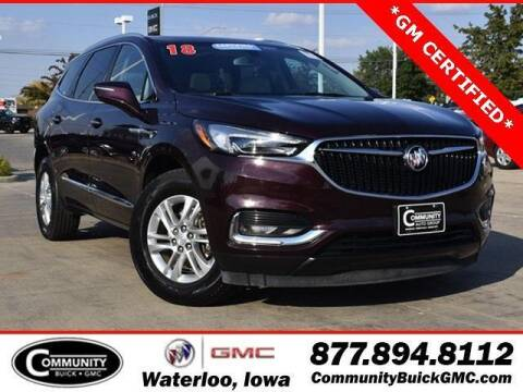 2018 Buick Enclave for sale at Community Buick GMC in Waterloo IA