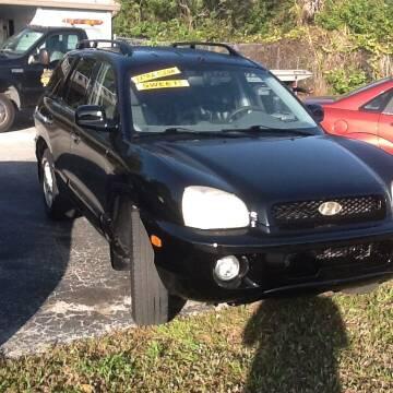 2003 Hyundai Santa Fe for sale at Easy Credit Auto Sales in Cocoa FL