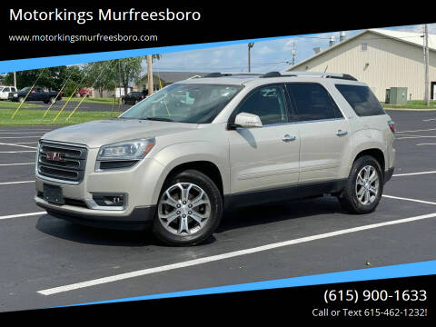 2014 GMC Acadia for sale at Motorkings Murfreesboro in Murfreesboro TN