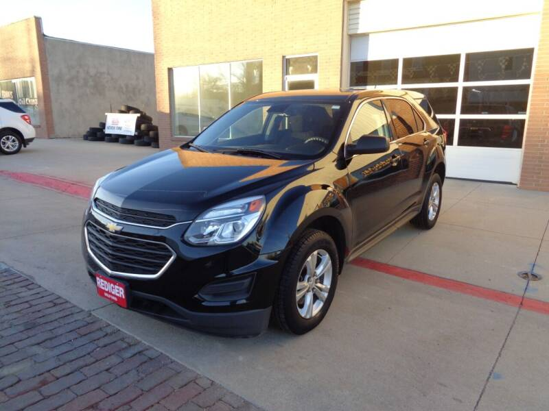 2017 Chevrolet Equinox for sale at Rediger Automotive in Milford NE
